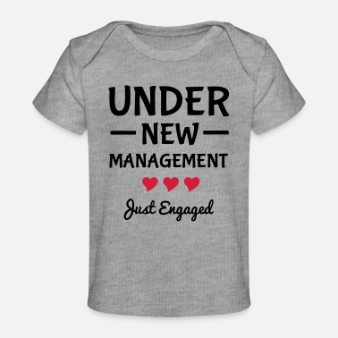 Engagement Engaged - Organic Baby T-Shirt