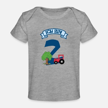 I'm 2nd birthday - Organic Baby T-Shirt
