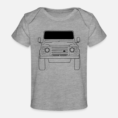 Land Rover Defender Land Rover Defender Front - Organic Baby T-Shirt