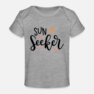 Vacation Sun Seeker - Organic Baby T-Shirt