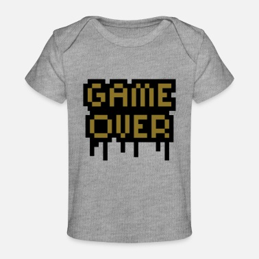 Game Over Game Over - Økologisk T-shirt til baby