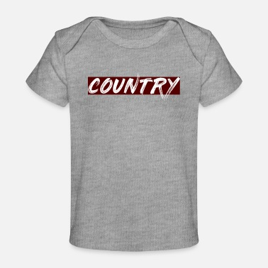 Country COUNTRY - Baby Bio-T-Shirt