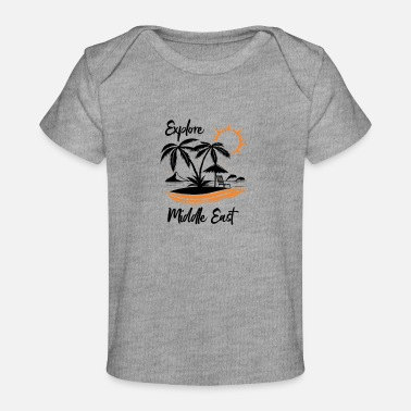 Middle East Explore Middle East - Organic Baby T-Shirt