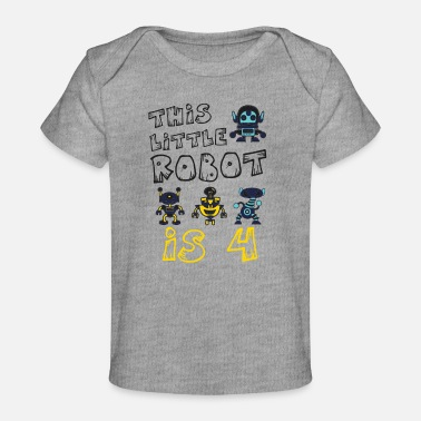 Artificial Intelligence This Little Robot Is 4 Future Robotics Engineer - Organic Baby T-Shirt
