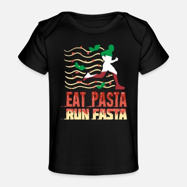 Italy Lovers Pasta saying gift for Italy lovers - Organic Baby T-Shirt