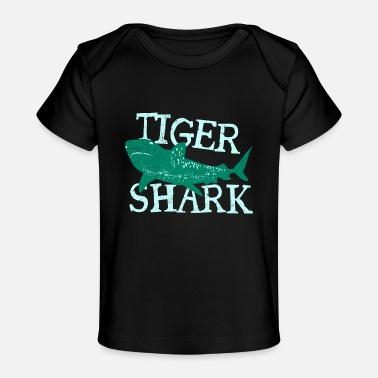 Fille Fish Tiger Shark Danger Diver Gift - T-shirt bio Bébé