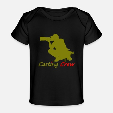 Casting Casting crew gold - Baby Bio-T-Shirt
