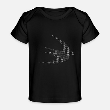 Swift white swifts - Organic Baby T-Shirt