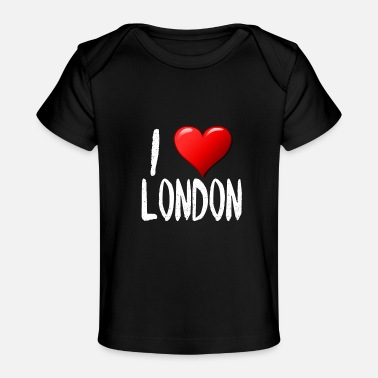 I Love London - Organic Baby T-Shirt