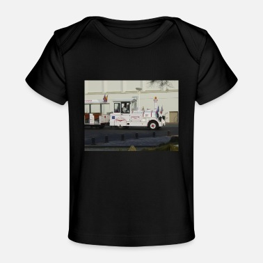Sight Seeing Biarritz train - Organic Baby T-Shirt