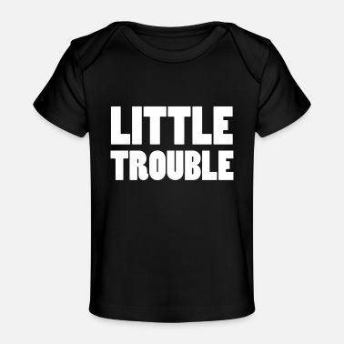 Little Italy Little Trouble - Baby Bio-T-Shirt