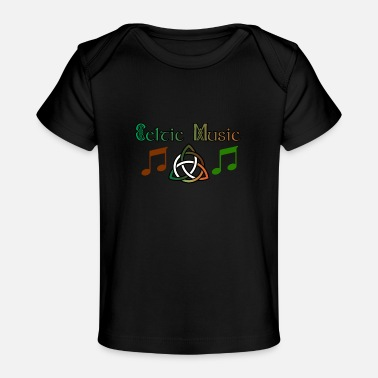Celtic Celtic Music - Celtic Music - Økologisk T-shirt til baby