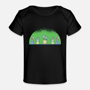 Plant-grounds plants - Organic Baby T-Shirt