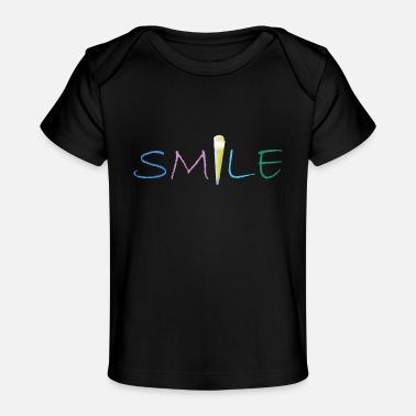 Joint smile joint - Baby Bio-T-Shirt