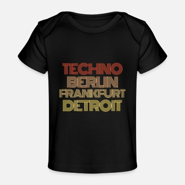 Specially Techno Musician Music Synthesizer keyboard - Organic Baby T-Shirt
