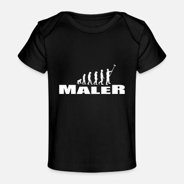 Stylish Maler - Baby Bio-T-Shirt