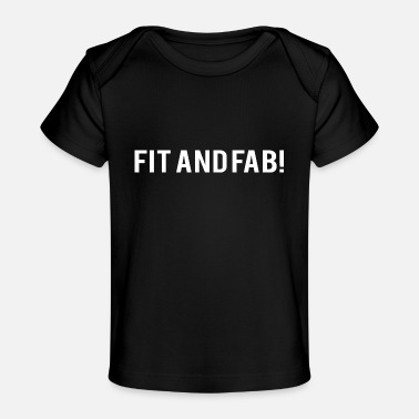 Corps POWERLIFTING: Fit et Fab! - T-shirt bio Bébé