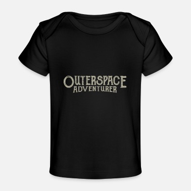 Outerspace Outerspace Adventurer astronaut - Organic Baby T-Shirt