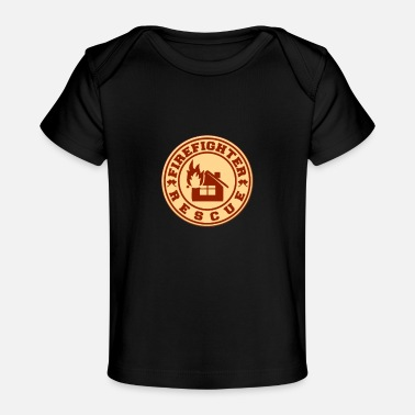 Redding Brandweerman redding - Brandweerman redding - Baby bio-T-shirt