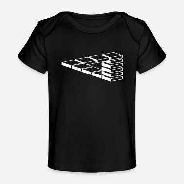 Optical Illusion Optical illusion - Organic Baby T-Shirt