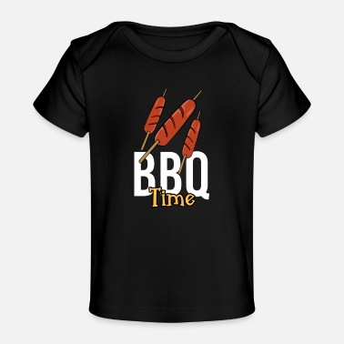 Hot dog BBQ Barbecue time Barbecue spit barbecue season - Organic Baby T-Shirt
