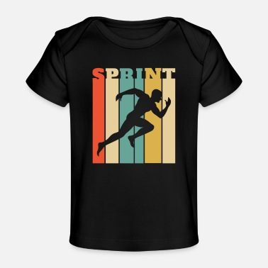 Sprint Conception de sprint pour un sprinter - SPRINT - T-shirt bio Bébé