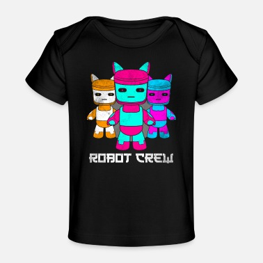 Sci-fi Robot drôle technologie machine science - T-shirt bio Bébé