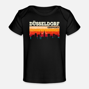 Hometown Düsseldorf hometown Germany hometown - Organic Baby T-Shirt