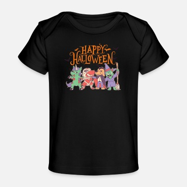 Halloween Happy Halloween Funny Party Costume - Organic Baby T-Shirt