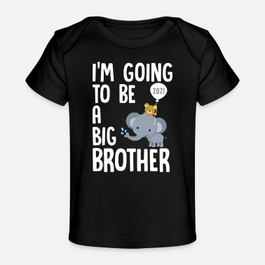 Big Brother 2021 - Pregnancy Pregnant - Organic Baby T-Shirt