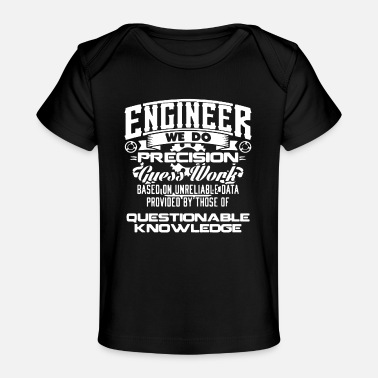Funky ENGINEER WE DO - T-shirt bio Bébé