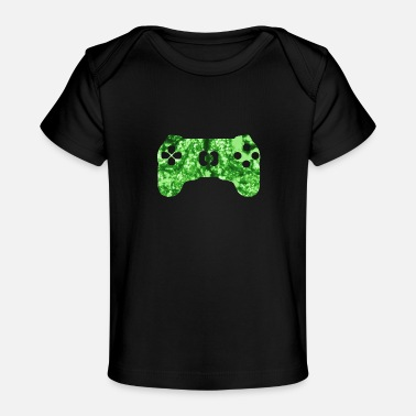 Computer Funny saying gaming zone area - Organic Baby T-Shirt