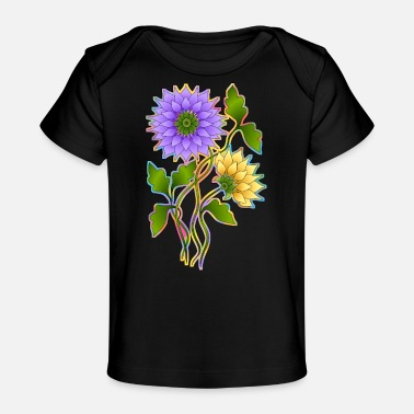 Rose Flowers - Organic Baby T-Shirt