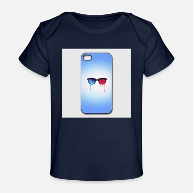 Iphone-44s 3d psychedelic goa meditation glasses iphone 44s h - Organic Baby T-Shirt