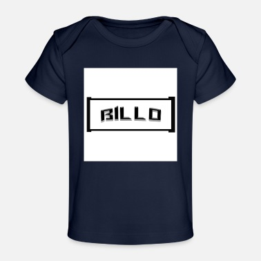 Letter Boxing Cool Billo lettering in a box - Organic Baby T-Shirt