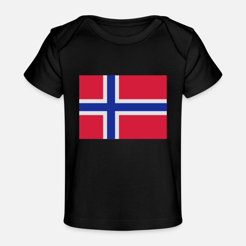 Marineblå Norwegian Flag Vinstopper | Holebrook | Gensere