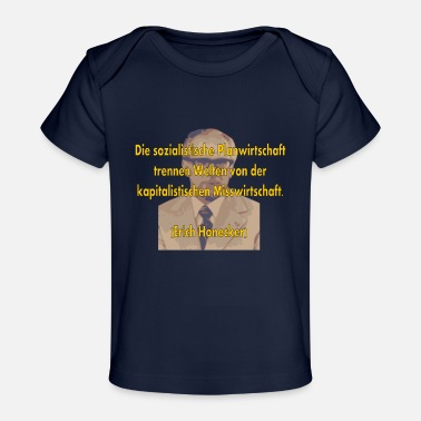 Mismanagement socialist planned economy - Organic Baby T-Shirt