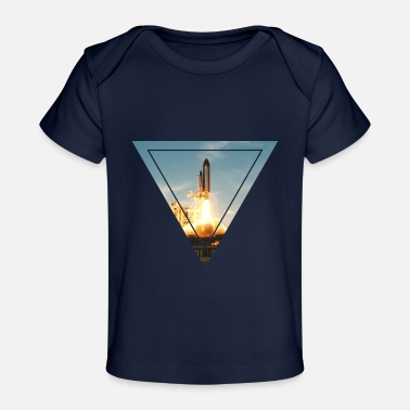 Space Space Shuttle - Baby Bio-T-Shirt