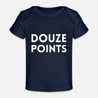 Song Festival Eurovision Song Contest Douze Points 12 - Organic Baby T-Shirt