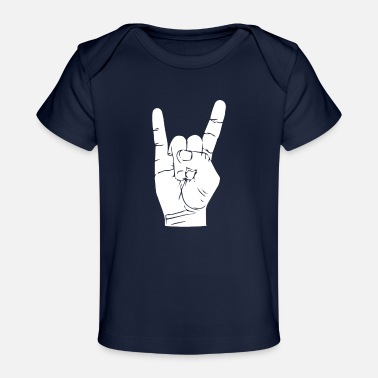 Rock-kleidung Rock - Baby Bio-T-Shirt