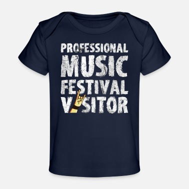 Concertgoers Music Festival Open Air Concert Party Gift - Organic Baby T-Shirt