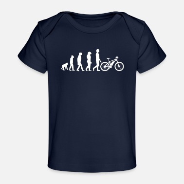 Sumu Lee Evolution Downhill Mountain Bike MTB Bike Tour BMX - Organic Baby T-Shirt