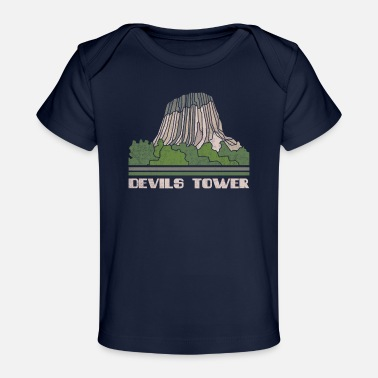Devils Tower Shirt National Monument Nature Souven - Organic Baby T-Shirt