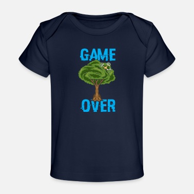Game Over - Drone - Build Crash Repeat - Baby Bio-T-Shirt
