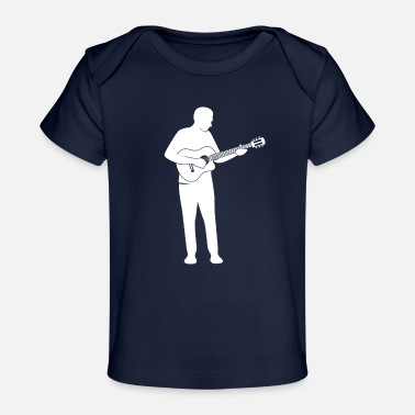 Guitar Player guitar player - Organic Baby T-Shirt