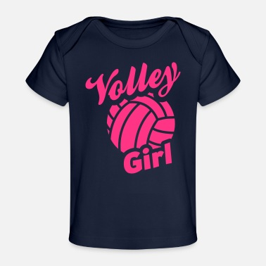 Volley volley girl - Baby bio-T-shirt