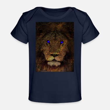Mythical mythical lion - Organic Baby T-Shirt