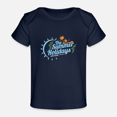 Summer Holidays summer holidays - Organic Baby T-Shirt