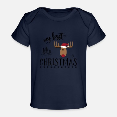 Funny gifts for babies for Christmas - Organic Baby T-Shirt