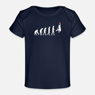 Basketball Basketball evolution - Organic Baby T-Shirt